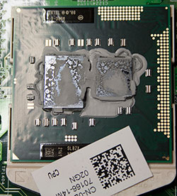 dried out thermal paste